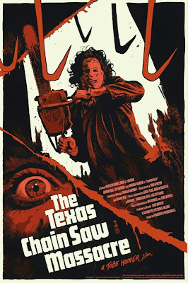 The Texas Chainsaw Massacre Standard Edition Screen Print by Francesco Francavilla