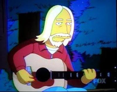 Tom Petty nos Simpsons