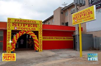 Inaugurou em Pitanga a Farmácia Super Popular