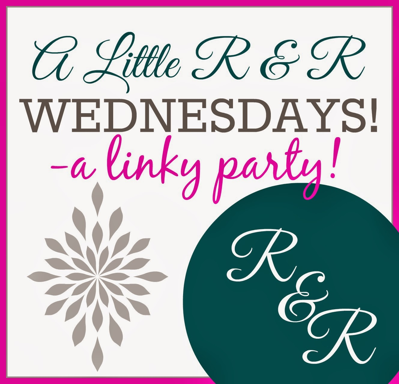 A Little R & R Wednesday Linky Party
