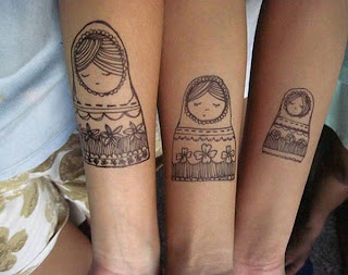 Matching Tattoos for Family and Friendship 2015