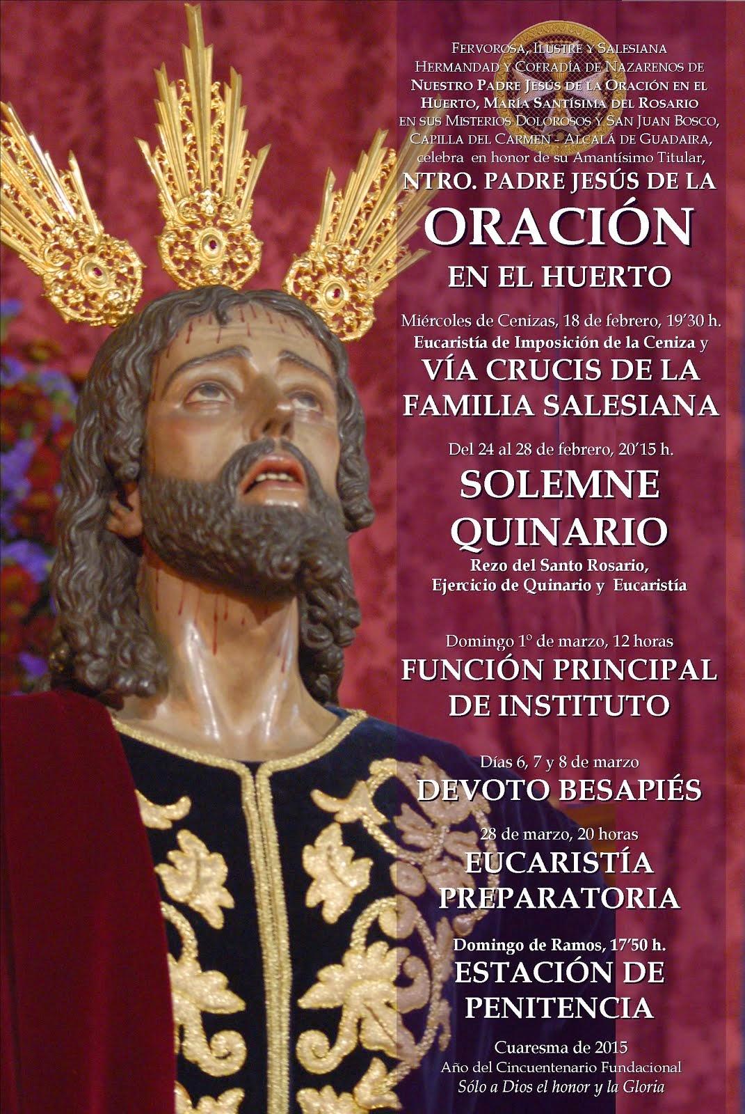 CONVOCATORIA DE CULTOS CUARESMALES