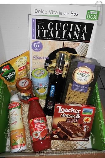 brandnooz box Bella Italia 2013