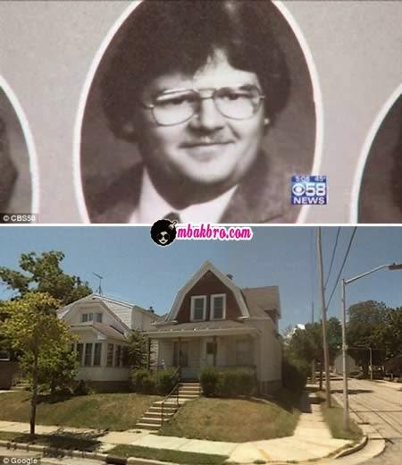 David Carter dan rumahnya