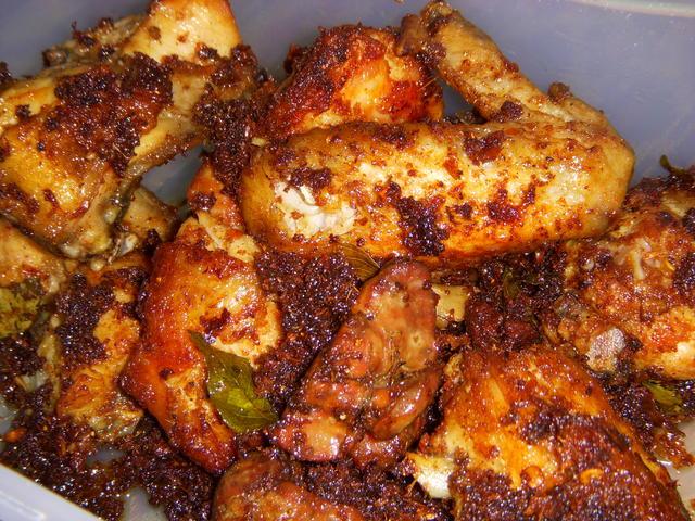 Resepi Ayam Goreng Berempah
