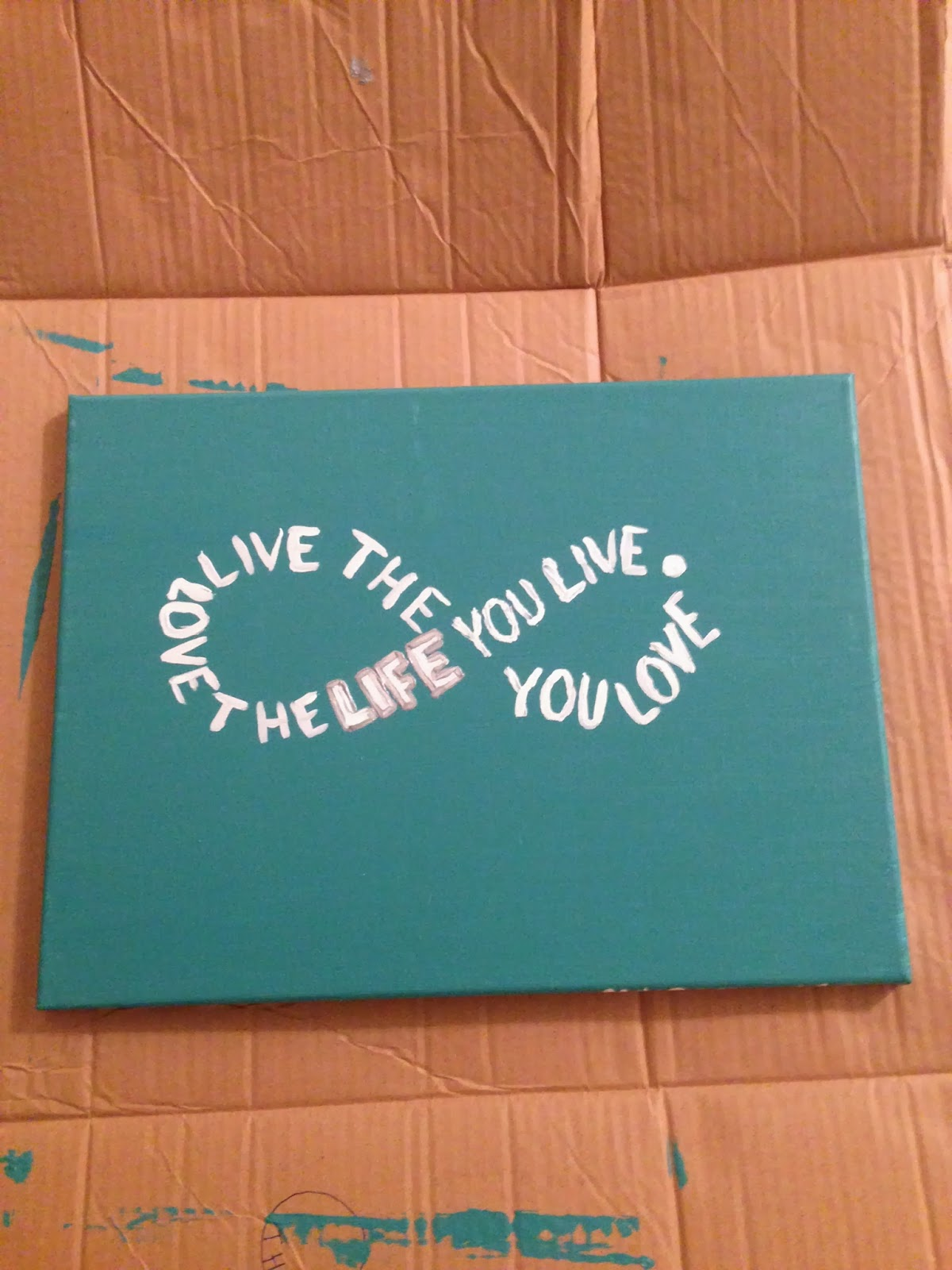 Allthingsmelissaann fun girls night diy canvas paintings for Paint to canvas