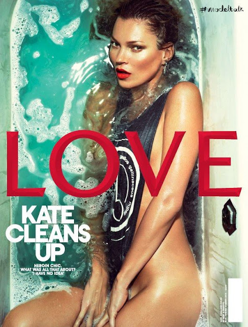 Kate Moss by Slve Sundsb for Love Magazine #9