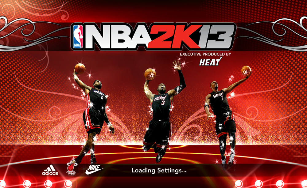 Description: This mod changes the default splash screen of NBA 2K13