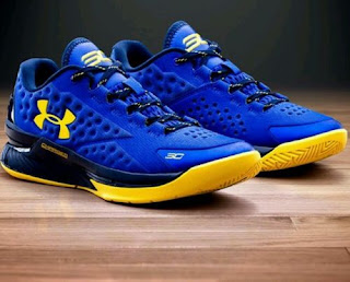 Under Armour UA Charge Foam Steph Curry 1 One LOW Home Royal Warriors