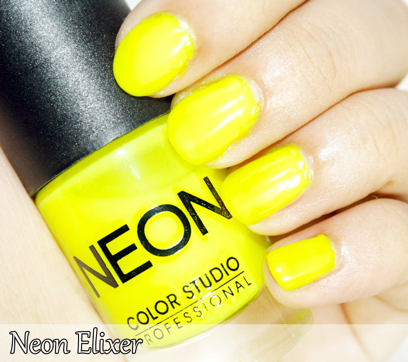 Neon Nail Polish Collection-- Swatches ~ Color Studio Professional
