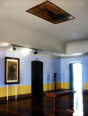 Interior do museu Histórico de Sergipe, em São Cristóvão - Sergipe