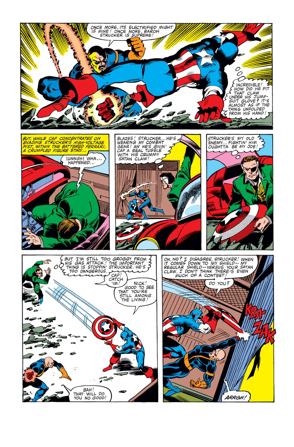 Captain America (1968) Issue #247 #162 - English 16