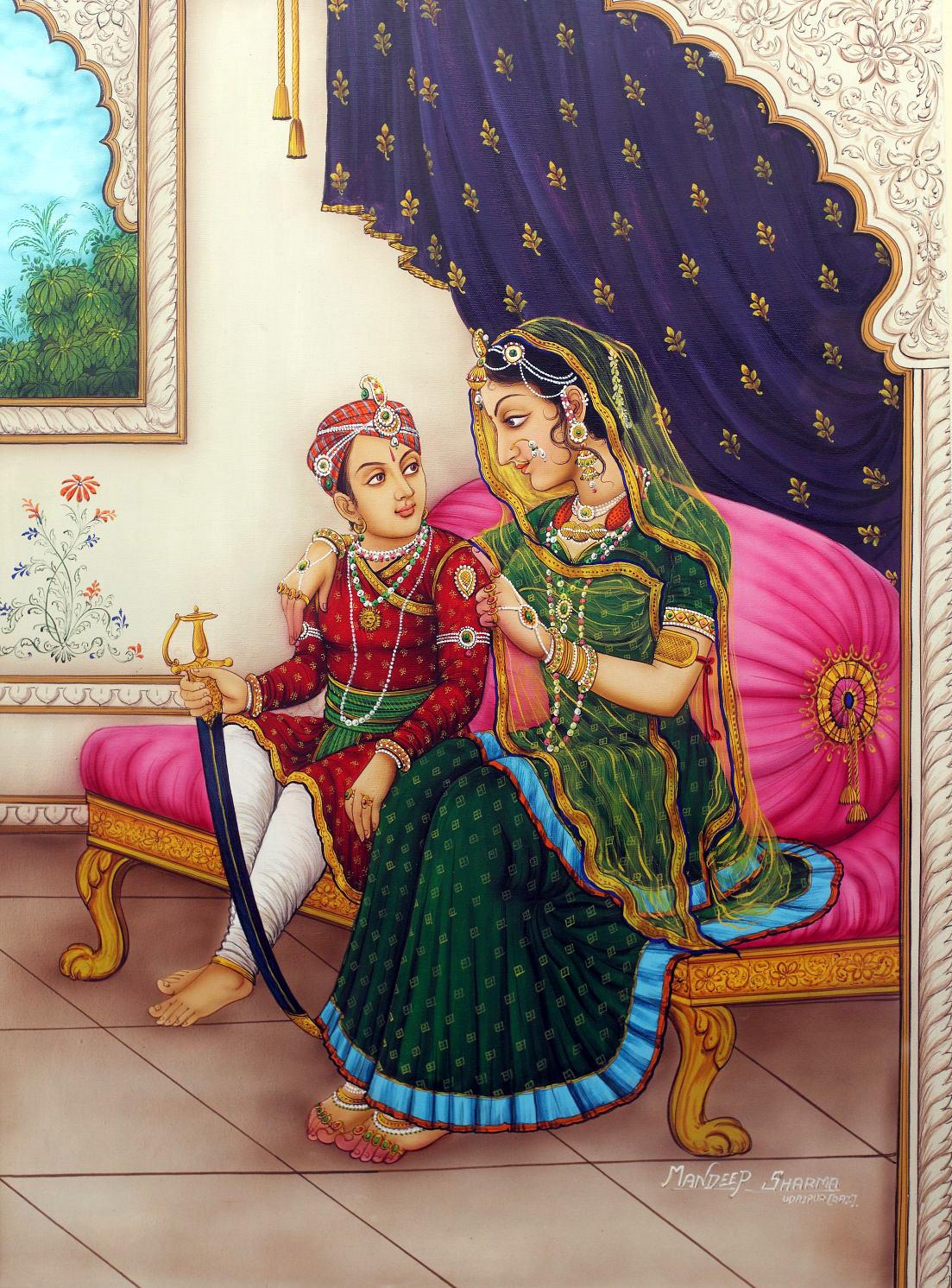 maharana pratap sword