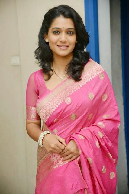 Urmila In Pink Saree