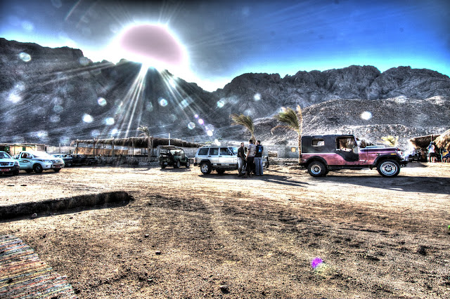 Halo artifacts in HDR photo