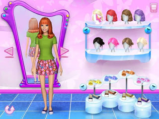 Barbie Fashion Solitaire Games