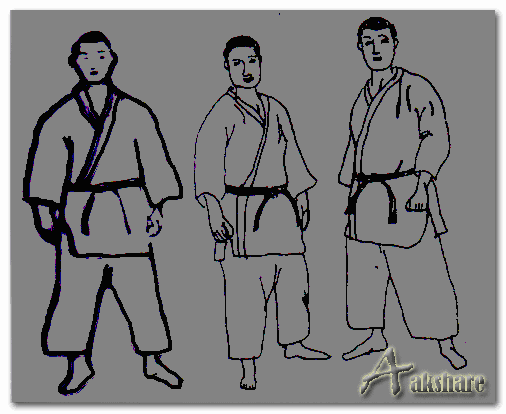 Sikap Berdiri Biasa Olahraga Judo (Shizentai)