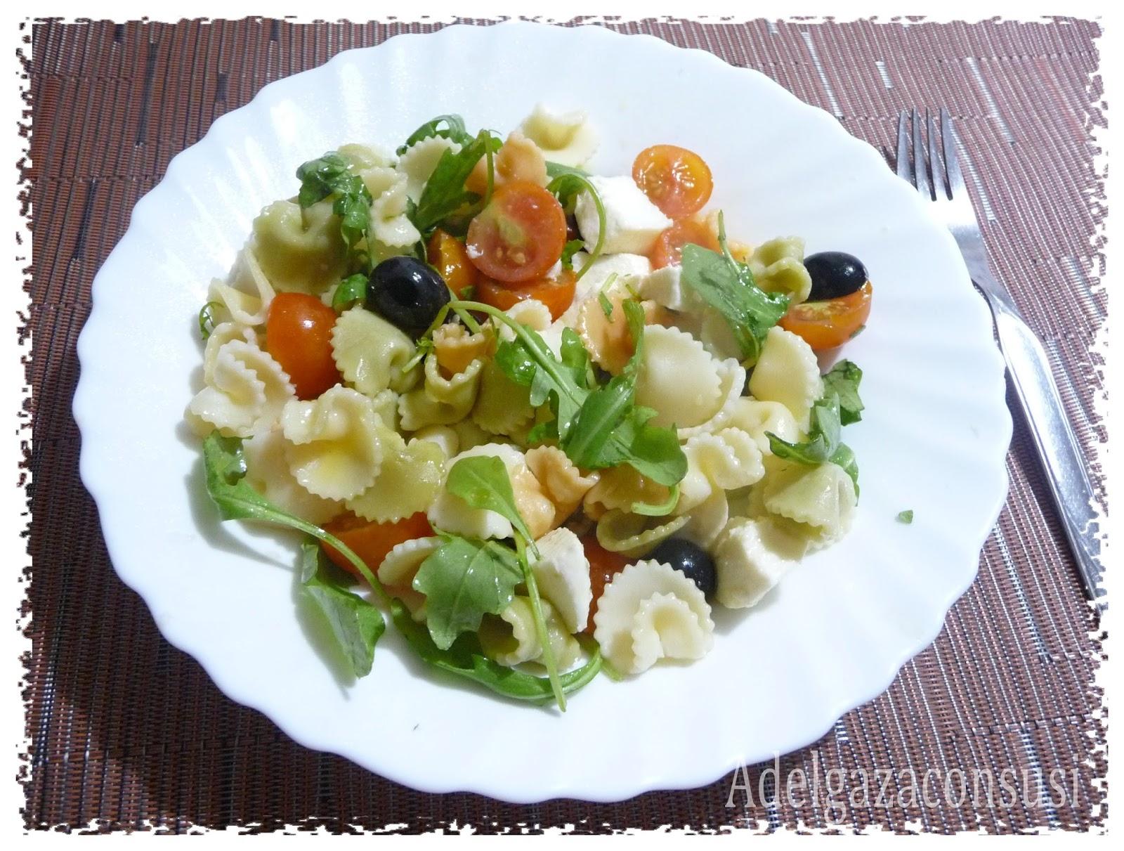 Recetas light adelgazaconsusi ensalada de pasta con - Ensalada fresca de pasta ...