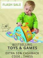 PayTM: Buy Toy, Baby & Kids care Products upto 40% off  : buy to earn