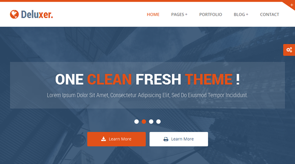 Premium Responsive Business Theme