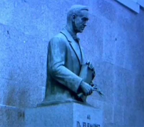 Памятник в Мадриде