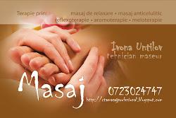 Masaj profesional Constanta
