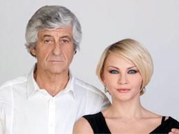 GIANNI RIVERA con YULIA MUSIKHINA