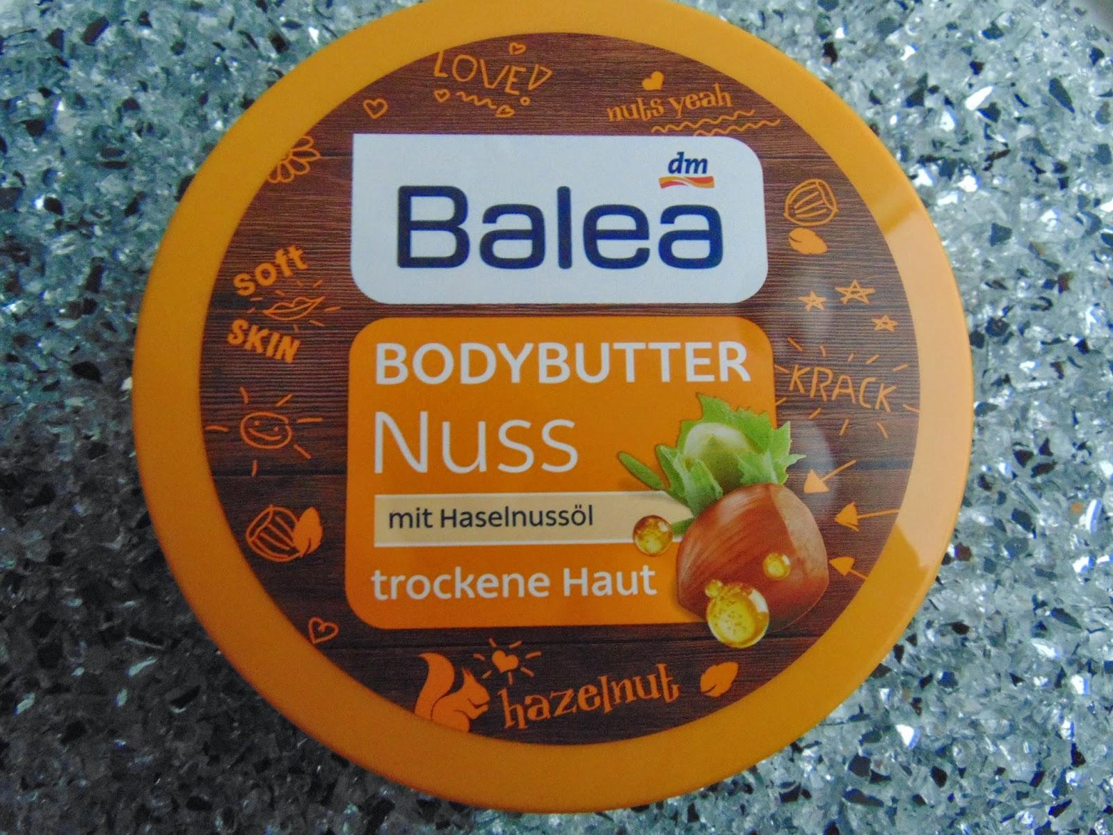 Bodybutter Nuss von Balea - www.annitschkasblog.de