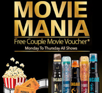 Shopclues Movie Mania Offer: Free Couple Movie Voucher + Engage Movie Voucher Special Pack Of 3 at Rs. Rs. 11 Cashback Rs. 456 : BuyToEarn