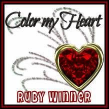 My Card is a Ruby Winner!