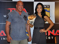Gail Kim Press Conference for Sony Six & TNA Wrestling game