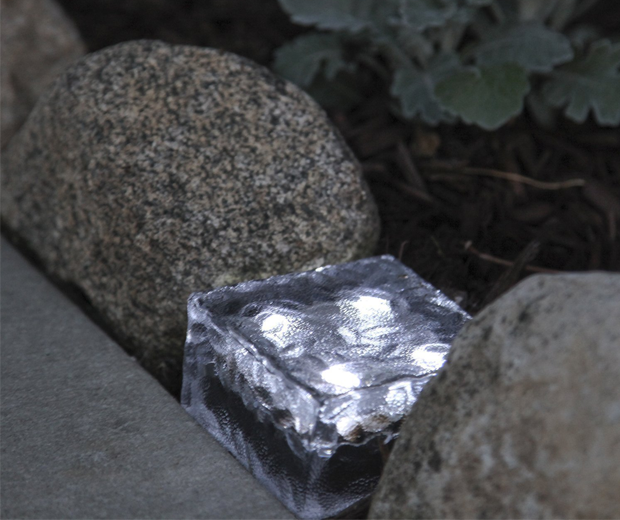 Solar Powered Light Bricks