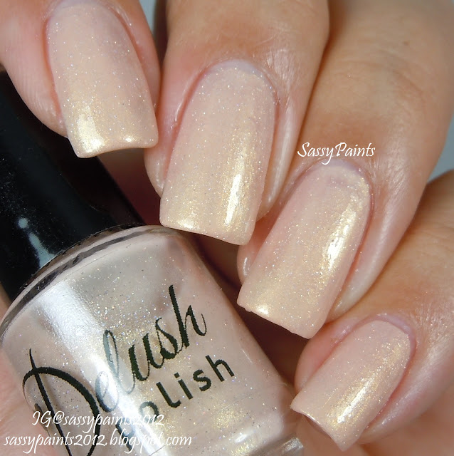 All photos of Bare To Be Bold are shown as 2 coats topped with Glisten