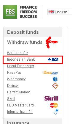 Cara withdraw via bank lokal
