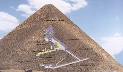 Interior da Pirâmide de Gizé