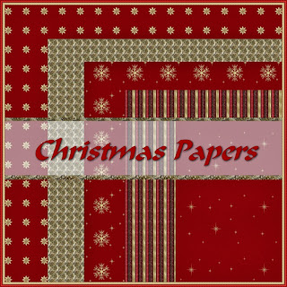 CHRISTMAS PAPERS    -    FREEBIE