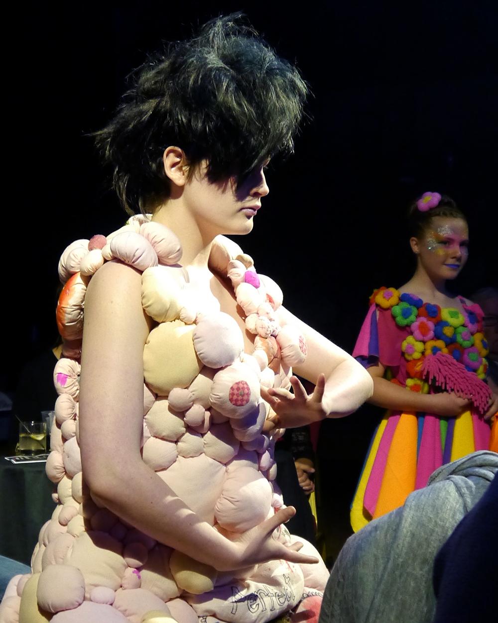 Dundee Wearable Art, Dundee Wearable Art Show, Wearable art, performance, fashion and art, Scottish Bloggers, Jill Skulina - Perfect Mother, Jude Barns - She Scrubs Up Well