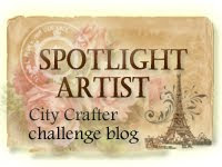 City Crafter Challenge Blog Week 209 - Speech Bubbles Spotlight Artists Award