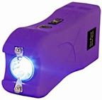 Runt Stun Gun Purple 20 Million Volts is a non lethal weapon for self defense