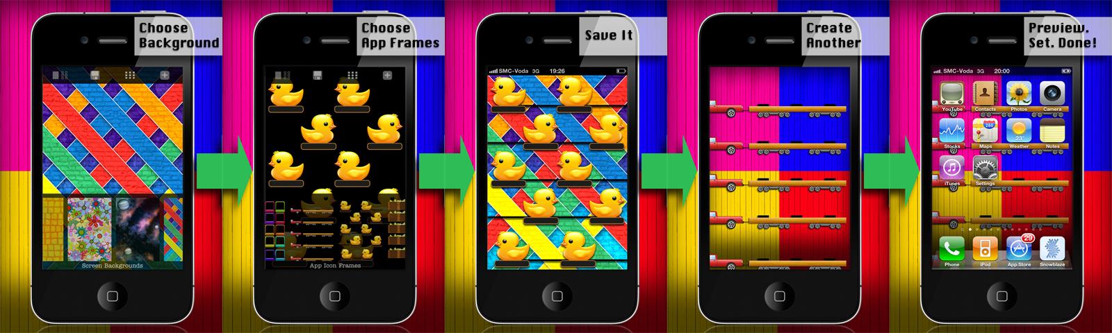 Wallpaper Remix Diy Home Screen And App Skins Iphone