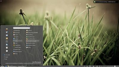 Linux Mint com a interface Cinnamon - Screenshot