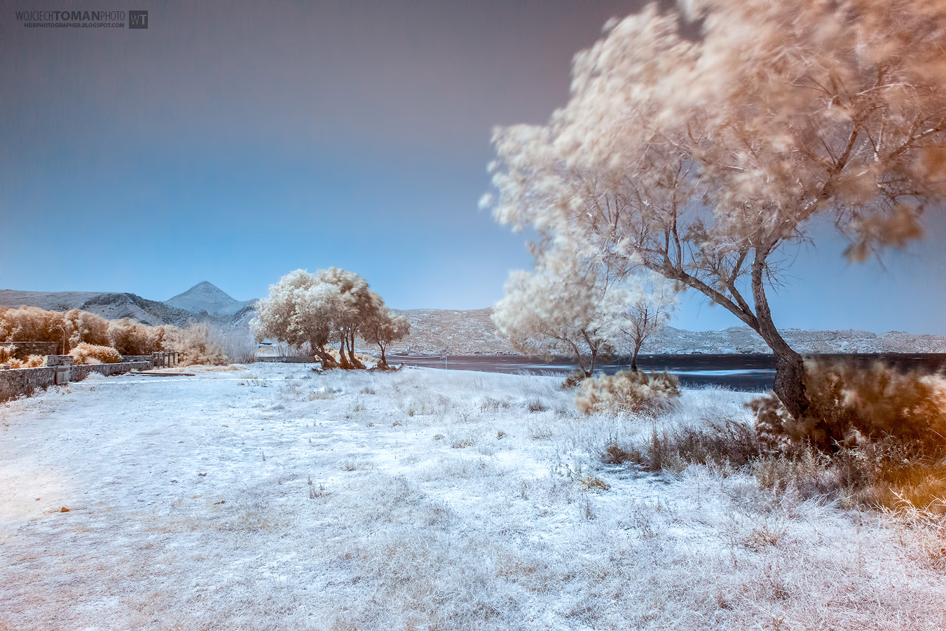 Infrared photo from Crete