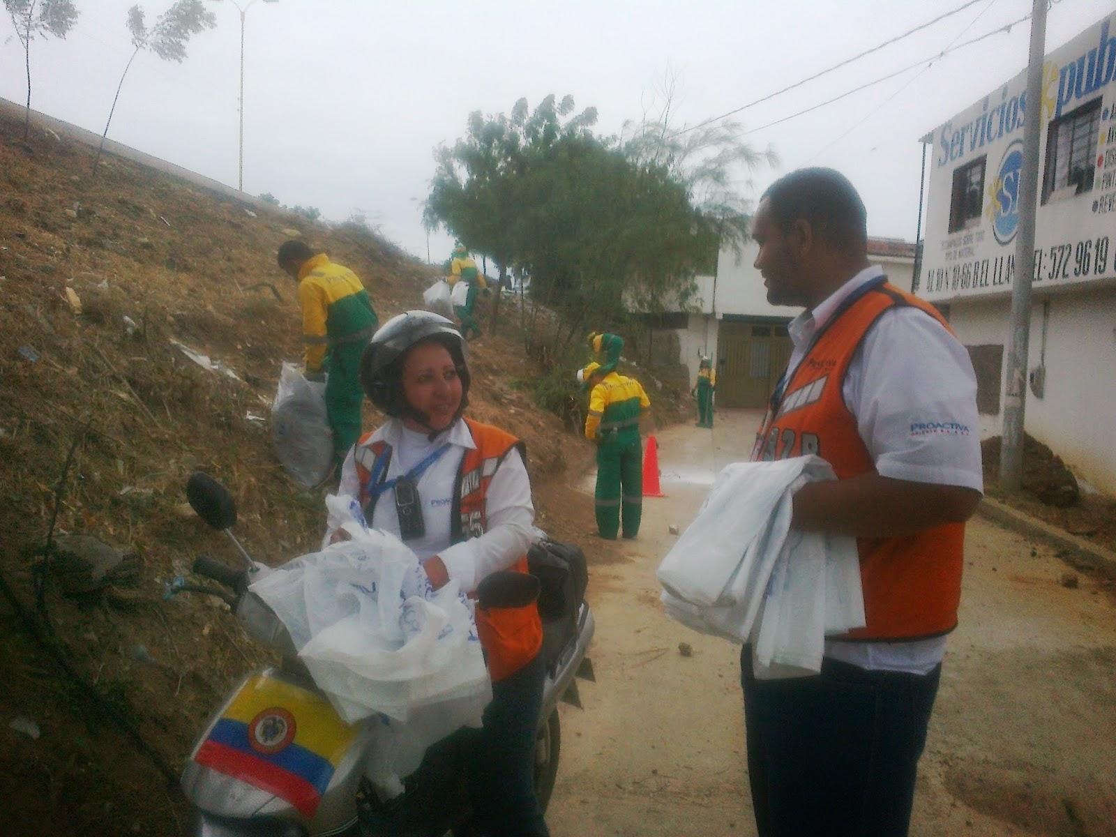 En Cúcuta-Colombia, Proactiva Oriente realiza limpieza en ecoparque Divino Niño-OngAE de Chapinero «Exclusiva FronteraNOTICIAS»