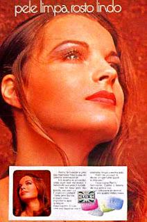 propaganda sabonete Lux - 1972 - com Romy Schneider.1972; os anos 70; propaganda na década de 70; Brazil in the 70s, história anos 70; Oswaldo Hernandez;