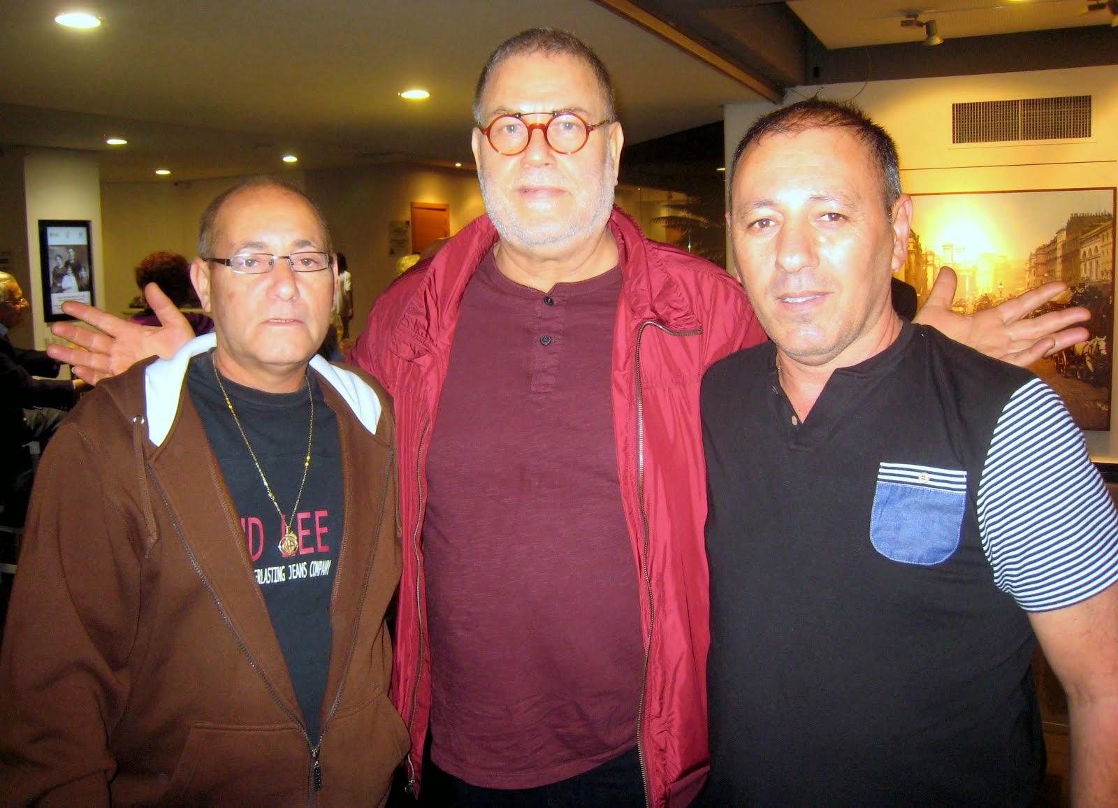 """חברי המשלחת והמסע """"מחיפה לסלוניקי 2014"""" עם הזמר יהודה פוליקר"""