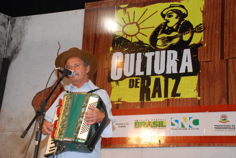 O sanfoneiro Amado Rodrigues