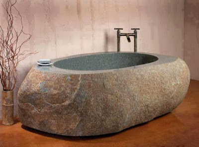 Stone Carved Bathtub