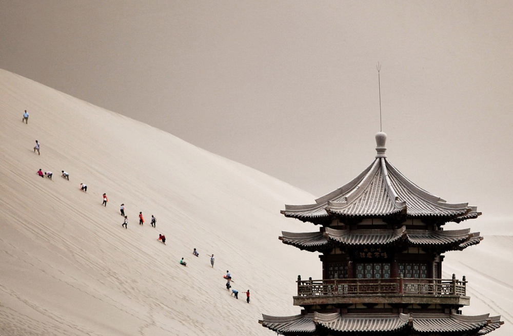 The 100 best photographs ever taken without photoshop - China's Gansu Province