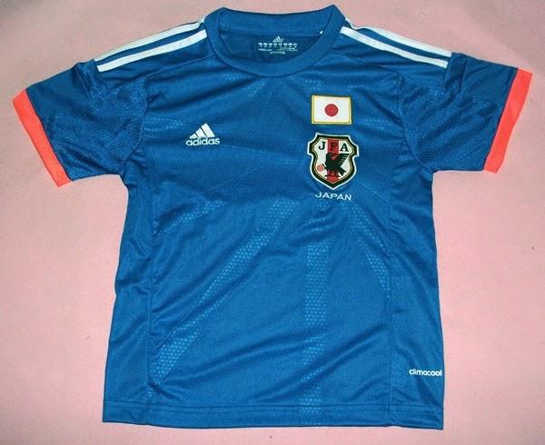 kaos bola Jepang grade ori untuk anak