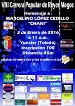 VIII Carrera Popular de Reyes Magos de Yuncler